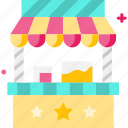 food, food stall, shop, stall, store icon