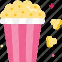 cinema, entertainment, food, popcorn, snack