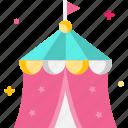 carnival, celebration, circus tent, festive, tent