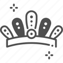 crown, fashion, king, queen, royal crown icon