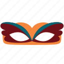 carnival, celebration, costume, event, festival, mask, party icon