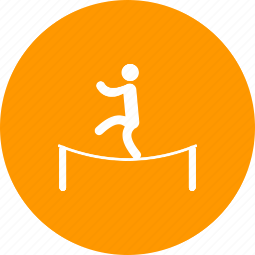 activity, balance, circus, event, performance, rope, show icon