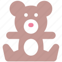 bear, teddy bear, toddy, toy, toy teddy, toy teddy bear icon