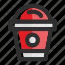 cup, drink, drink cup, milkshake, milkshake cup, packaging, smoothie icon
