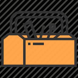box, carpenter, tool icon