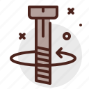 bolt, construction, crafting, industry, skill icon