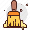 brush, construction, crafting, industry, paint, skill icon