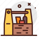 basket, construction, crafting, industry, skill, tools icon