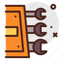 construction, crafting, industry, skill, tools icon