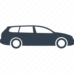 automobile, car, cars, combi, vehicle, wagon icon