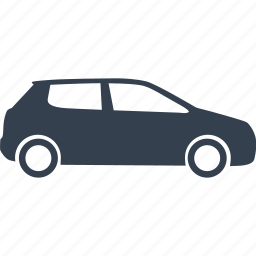 automobile, car, cars, hatchback, vehicle icon