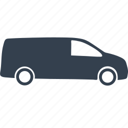 car, cars, delivery, transport, transportation, truck, van, vehicle icon