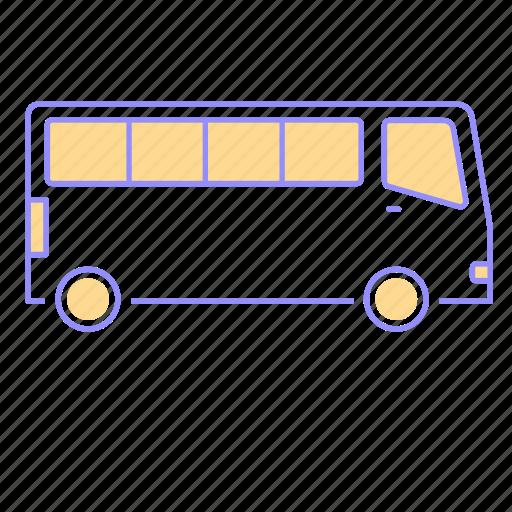 bus, car, drive, icon, otomotive, passenger, road, transportation icon