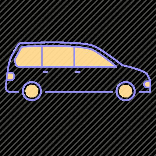 car, drive, family, icon, mpv, otomotive, passenger, road, transportation icon