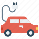 car, charging, ecology, power, vehicle icon
