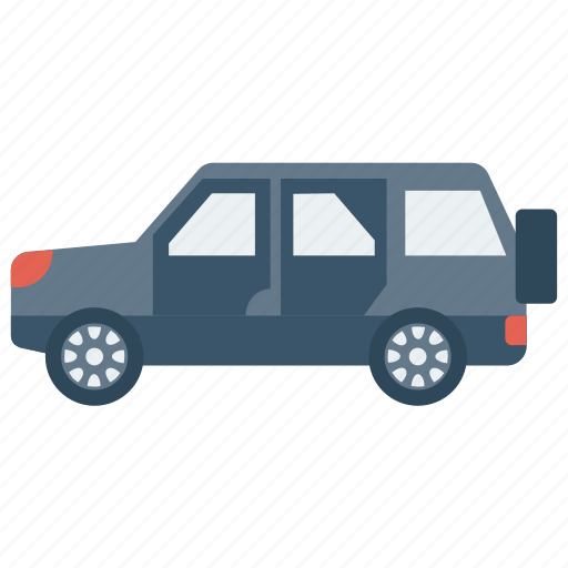 automobile, jeep, trasnport, travel, vehicle icon