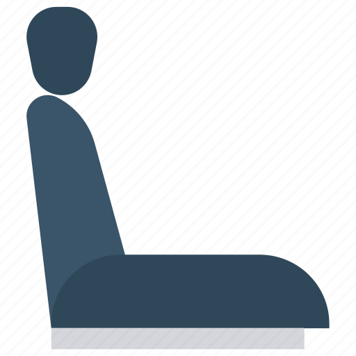 car, chair, seat, transport, vehicle icon