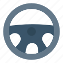 car, drive, rim, steering, wheel icon