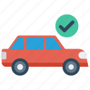 automobile, car, trasnport, travel, vehicle icon