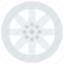 car, gear, rim, vehicle, wheel icon