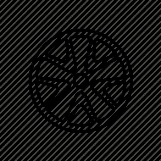 alloy, wheels icon