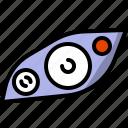 cars, color, headlamp, parts icon