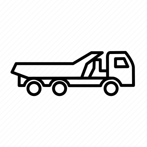 cargo truck, truck, vehicle icon