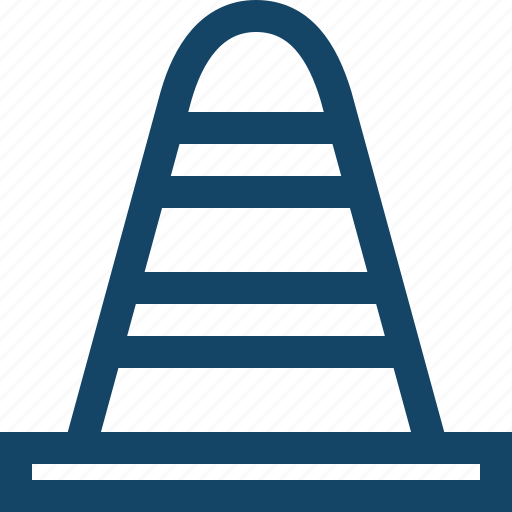 cone, road icon