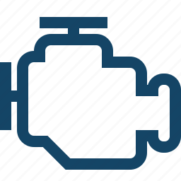 auto engine, car engine, engine icon