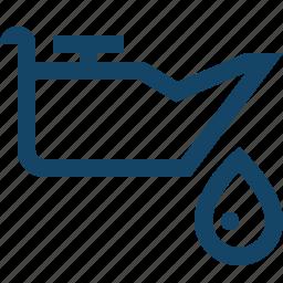 drop, fuel, gas, oil, petrol icon