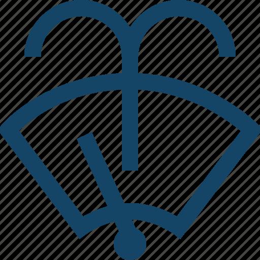 shield, wind, wiper icon