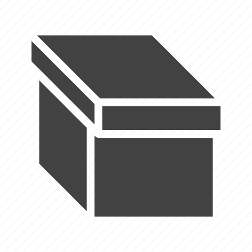 Box, cardboard, carton, lid, pack icon - Download on Iconfinder