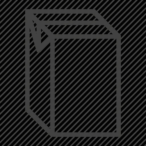 box, carton, juice, milk, pack, package icon
