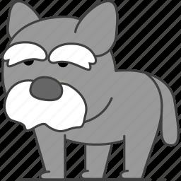 animal, animals, wolf icon