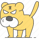 animal, animals, tiger icon