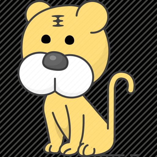 animal, animals, tiger icon