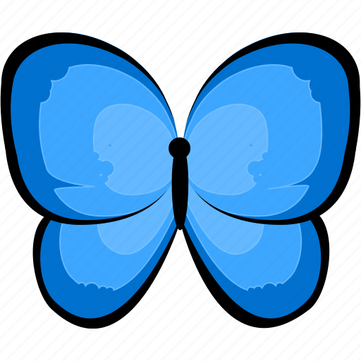 butterfly, hexapod, insect icon