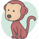 animal, animals, monkey icon