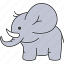 animal, animals, elephant icon