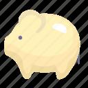 animal, cartoon pig, pig, piggy icon