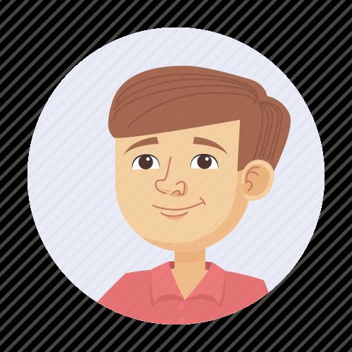 avatar, boy, child icon