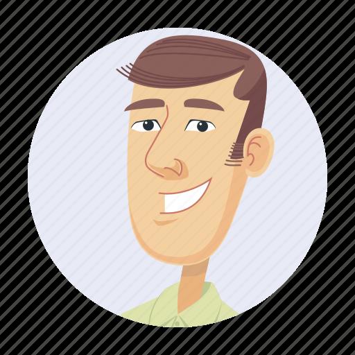avatar, guy, man, skinny icon