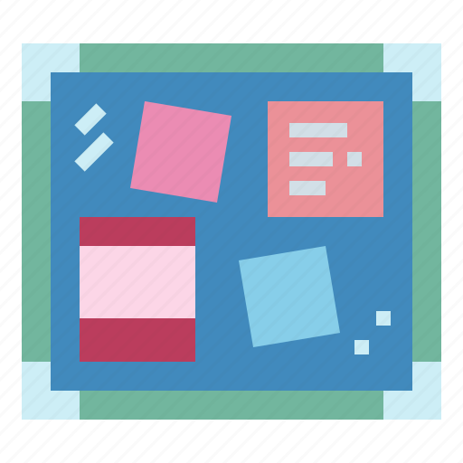 note, school, tools, whiteboard icon