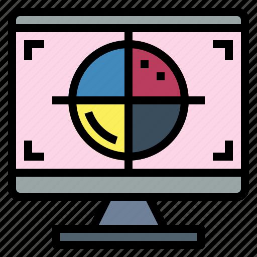 cmyk, design, print, scheme icon