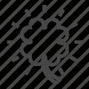 casino, clover, luck, machine, slot, trifoil icon