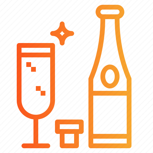 Alcohol, alcoholic, celebration, champagne, drinks icon - Download on Iconfinder