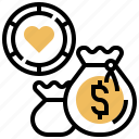 casino, chip, currency, exchange, money