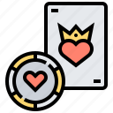 bet, blackjack, casino, gambling, winner icon