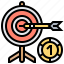 bet, casino, darts, gambling, throw icon