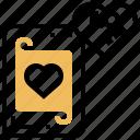 card, casino, gambling, heart, poker icon